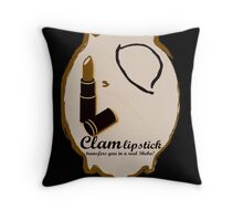 Exclusive Roaring Twenties vintage adverb. Throw Pillow