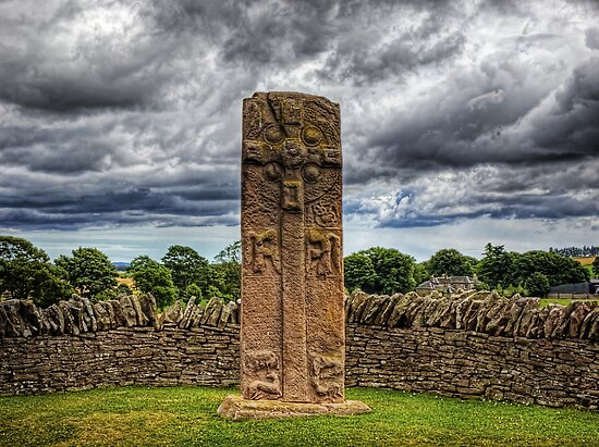 Aberlemno Pictish Cross - Scotland by NeilAlderney