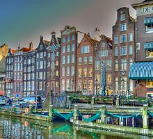 Old Amsterdam by Bradley Old