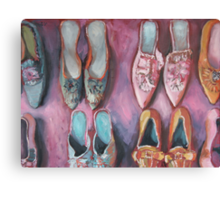 More Shoes Canvas Print