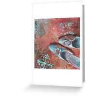 Not in my shoes Greeting Card