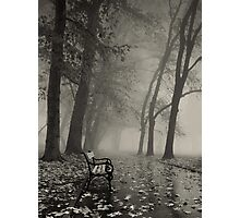 Foggy Photographic Print