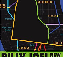 Billy Joel Poster by nickchic