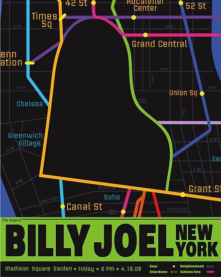 Billy Joel Poster by nickchic