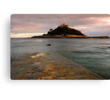 St Michaels Mount Causeway Canvas Print