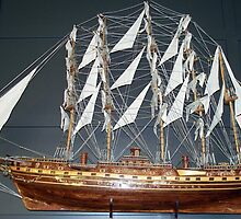 Tall Ship Model by BarbL