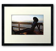Getting a Coppertone Framed Print