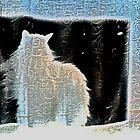 kush behind curtains by Zefira