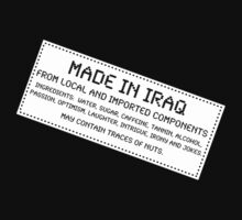 Traces of Nuts - Iraq by Ron Marton