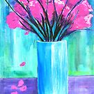 Pink in Vase by BenPotter