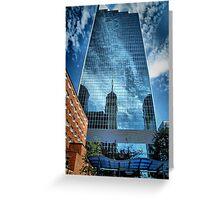 Mirrored Minneapolis Greeting Card