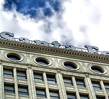 Santa Fe Building Detail, Chicago, Daniel Burnham by Crystal Clyburn
