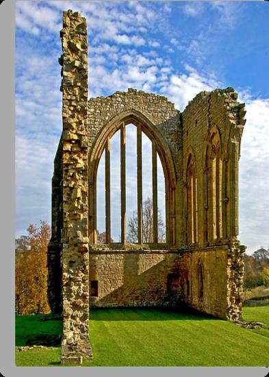 Egglestone Abbey Ruins - Co Durham by Trevor Kersley