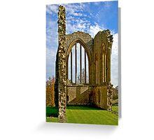 Egglestone Abbey Ruins - Co Durham Greeting Card