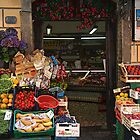 Village Market - Riomaggorie, Italy   by Ruth Durose