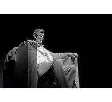 ~Lincoln by Night~ Photographic Print