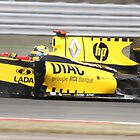 Robert Kubica - Renault R30 - Silverstone 2010 by MSport-Images
