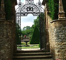 Gate at Athelhampton by Ian  Batchelor