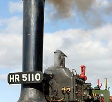 Little Lauren, steam traction engine by buttonpresser