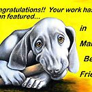 Man's Best Friend banner by Margaret Sanderson