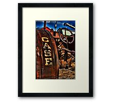 Case Antiquated Tractor Framed Print