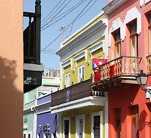 Old San Juan Colors by Susy Caunedo