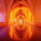 Alcazar, Sevilla by Paul Webb