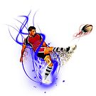 Rugby Kick by Mike Butchart