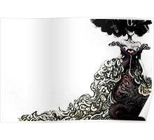 Homage to Alexander McQueen Poster