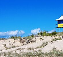 Beach Hut by Sarah Moore