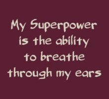 Superpower #1 by YellowGecko