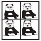 3D Pandas by Coorsmackio