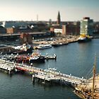 Kiel from above by Hilthart Pedersen
