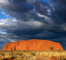 Ayers Rock (Uluru) Sunset, Australia by Michael Boniwell