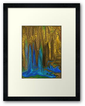 PLANET OF GOLDEN CAVES`  by Sherri     Nicholas