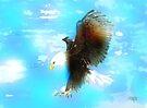 Bald Eagle In Flight by arline wagner