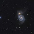 "Spiral Galaxy (M51 ""Whirlpool"") by Igor Chekalin"
