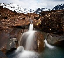 Faerie Pools, Skye by Jeanie