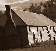 Shearer's Quarters, Tocumwal, Australia by Georgina James