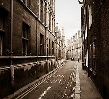 A walk down Trinity street  by Ian Batterbee