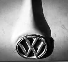Aircooled Bonnet - Detail of a Vintage VW by phillirm