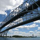 Blue Water Bridges by Tanya Keefe