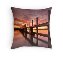 Low Tide..... Throw Pillow
