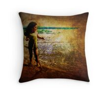 Sheer Delight of Discovery Throw Pillow