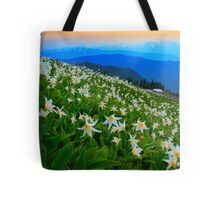 Flower Avalanche Tote Bag