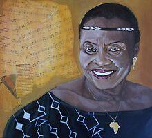 Mama Afrika - Miriam Makeba by ShelleyB