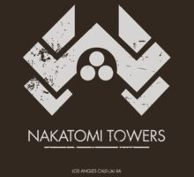 Die Hard - nakatomi - white by buud