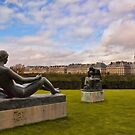 Jardin des Tuileries by Mick Burkey