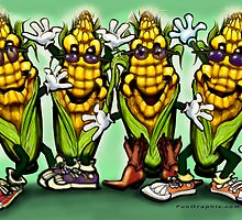 Corn Party by Kevin Middleton