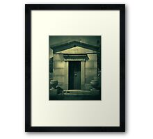 No Sound But The Wind Framed Print